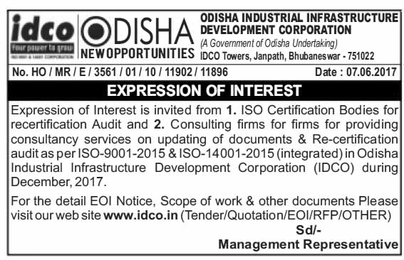 expression of interest eoi consulting firms